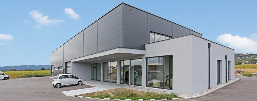 Mair Solar Betriebsgebäude Panorama
