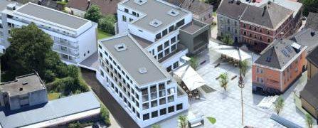 Luftbild St.Martin neues Ortszentrum