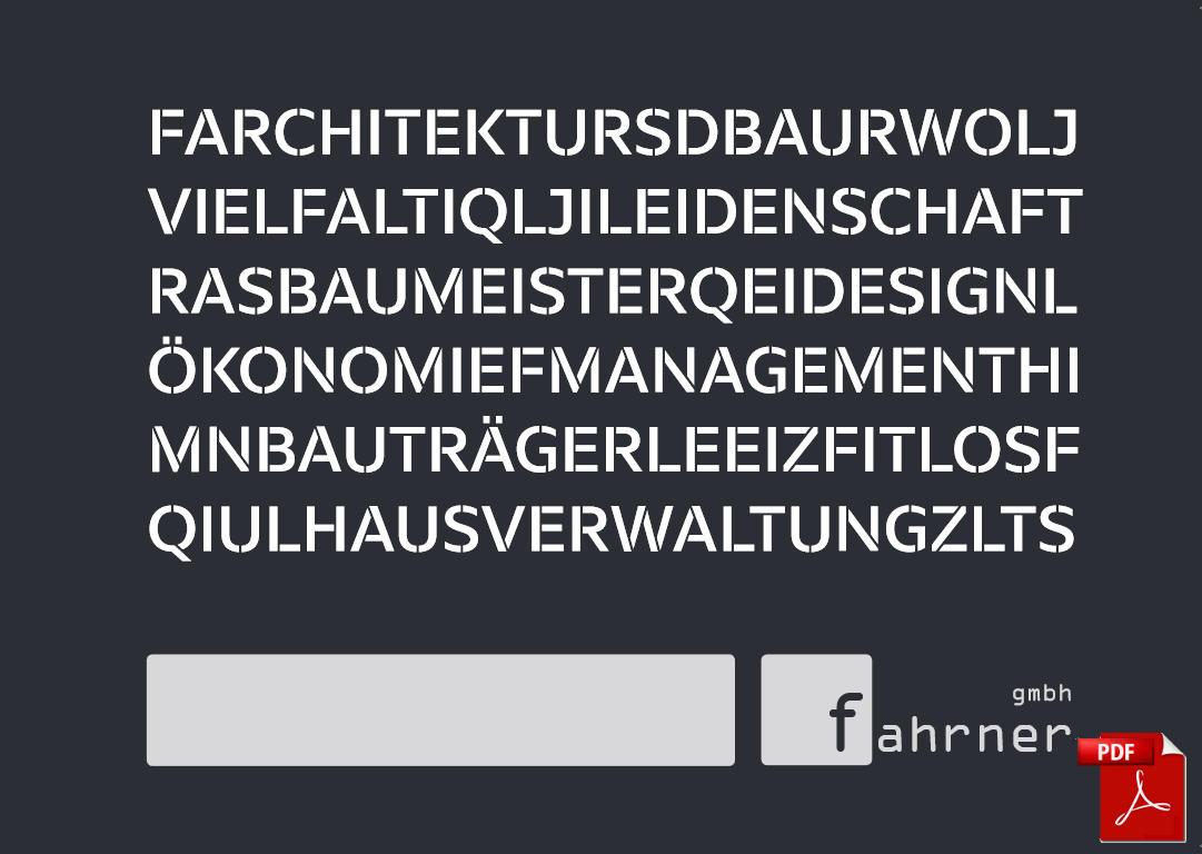 Imagefolder Fahrner GmbH 2016