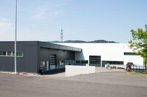 Innovatives Betriebsgebäude in Putzleinsdorf