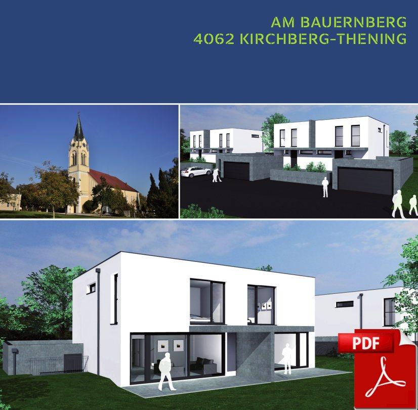 Infofolder zu Doppelhaus in Axberg, Kirchberg-Thening