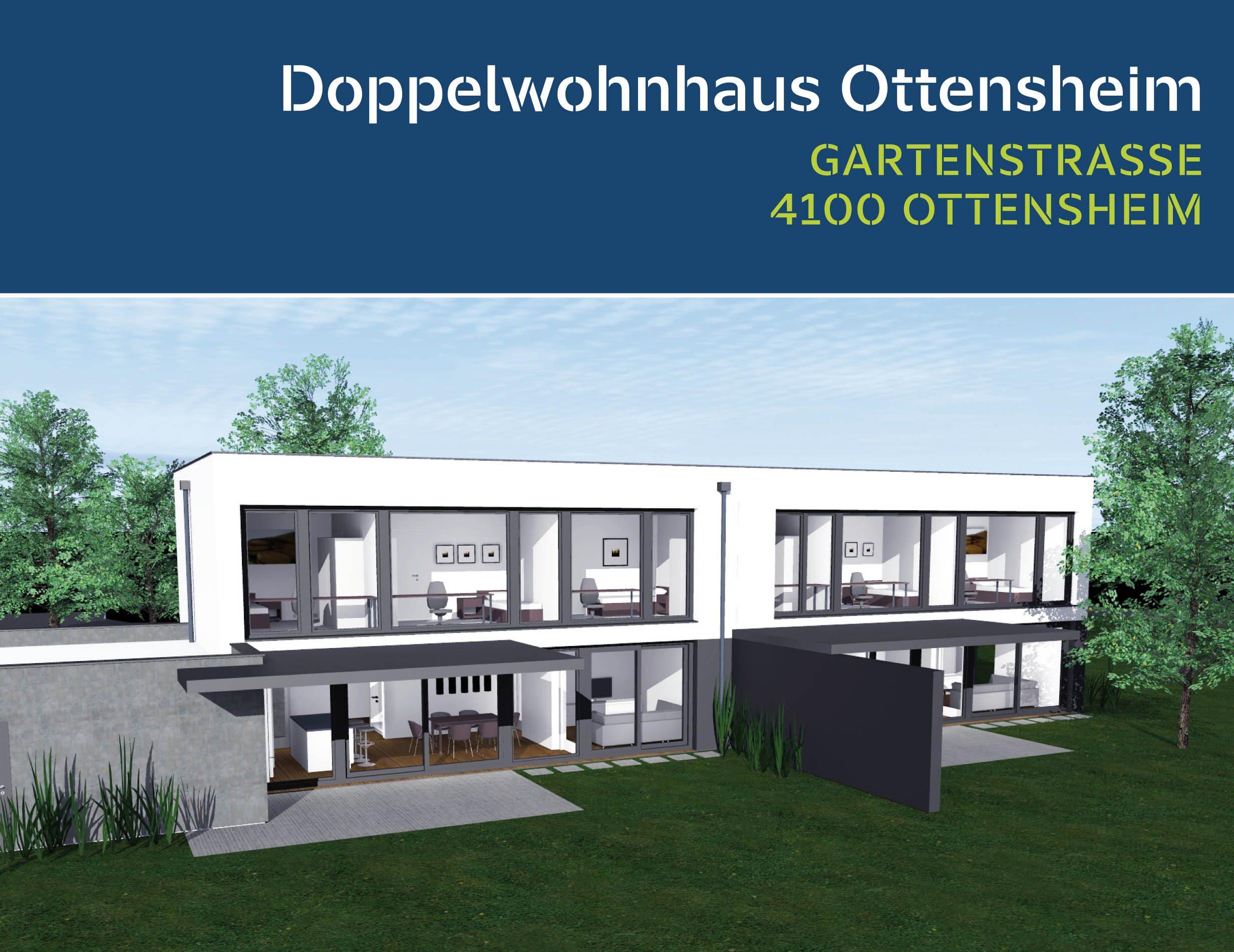 Doppelwohnhaus Ottensheim – Gartenstraße