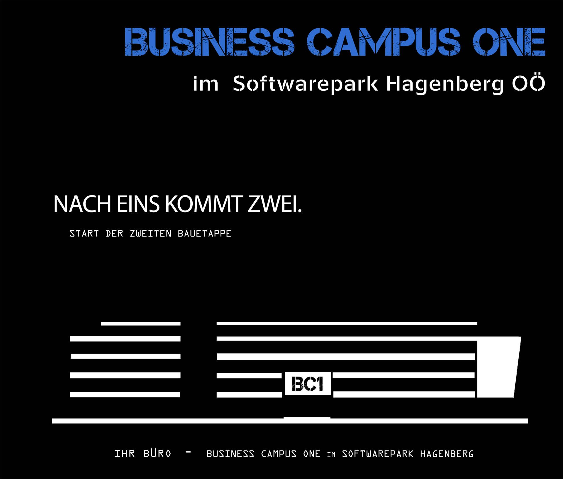 Info-Folder zu Business Campus One – 2. Bauabschnitt