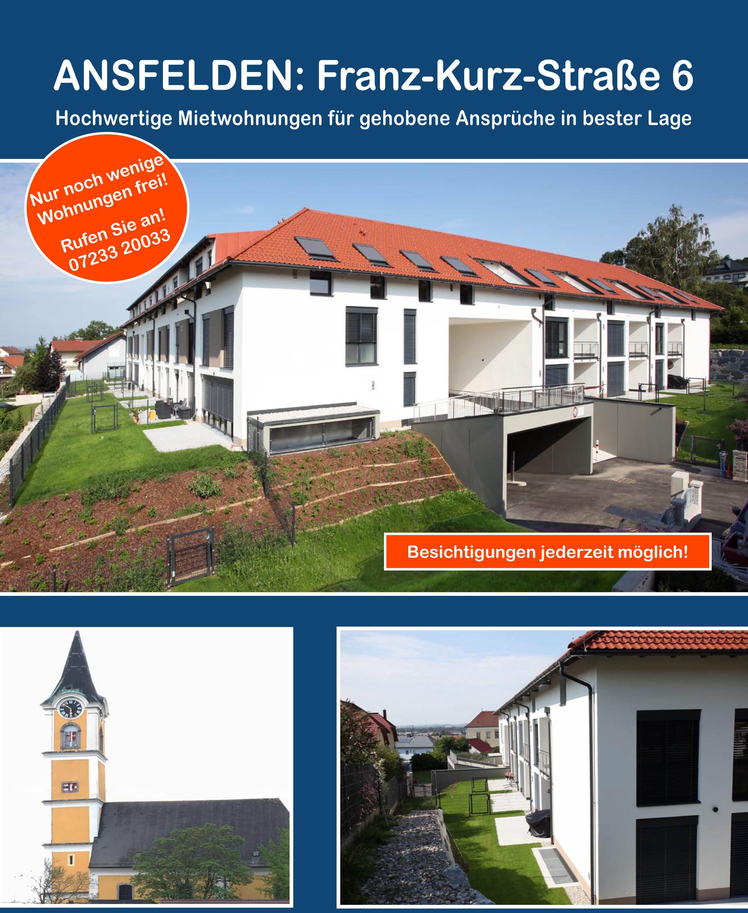 Wohnanlage Ansfelden Anton-Bruckner-Hof