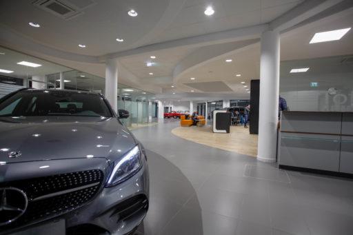 Facelifting für Mercedes Händler in Eferding